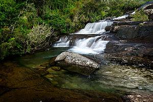 Caparaó National Park - Image: Cachoeira da Farofa 2
