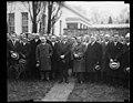 Calvin Coolidge and group outside White House, Washington, D.C. LCCN2016888637.jpg