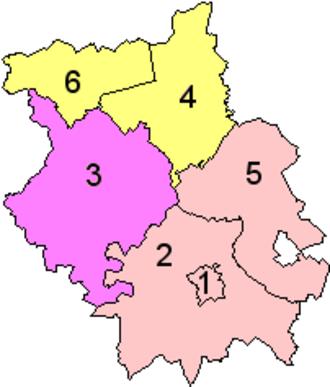 Local Government Commission for England (1992) - Image: Cambridgeshire Banham Draft