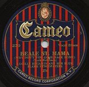 Cameo label