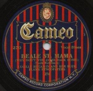 Cameo Records - Image: Cameo Hegamin Label