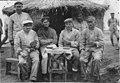 Camp de prisonniers - Camp de prisonniers allemands, partie de cartes - Kenitra - Médiathèque de l'architecture et du patrimoine - AP62T060972.jpg