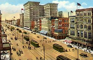 Marriott New Orleans Map.Canal Street New Orleans Wikipedia