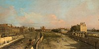 Canaletto - London, Whitehall and the Privy Garden looking North Buccleuch.jpg