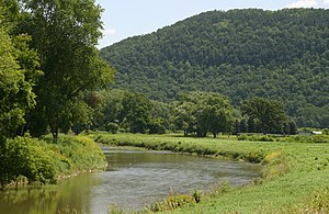 Canisteo River - Canisteo River below Addison, NY