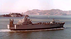 SS Cape Isabel (T-AKR-5062) - Image: Cape isabel underway