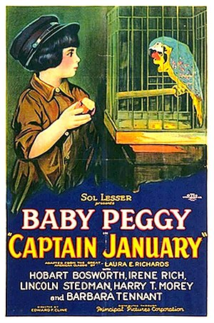 Captain January (1924 film) - Theatrical release poster for Captain January.