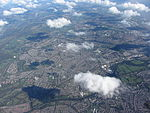 Cardiff's NW suburbs from the air - geograph.org.uk - 4702629.jpg