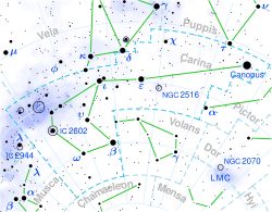 Carina constellation map.svg