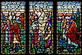 Carl Huneke's stained glass window - Go Therefore, Teach Ye All Nations at Campbell UCC, Campbell, CA.jpg