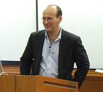 w:en:Carl Malamud holding a talk at Berkeley a...