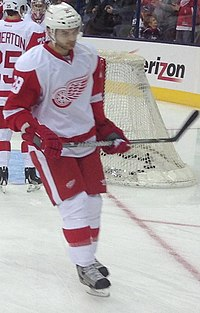 Carlo Colaiacovo Red Wings 2013.jpg