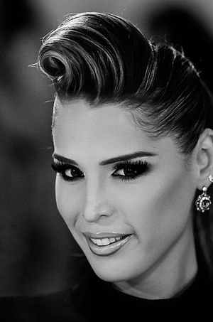 Carmen Carrera - Carmen Carrera at New York Fashion Week in September 2011