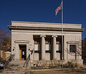 Carnegie Library (Boulder, Colorado) - Image: Carnegie Library Boulder CO