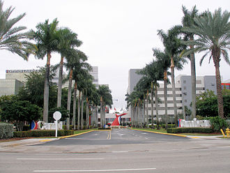 Doral, Florida - Carnival Corporation and Carnival Cruise Lines headquarters in Doral