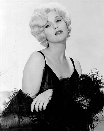 Lynley as Jean Harlow in the film Harlow (1965) Carol Lynley as Harlow.jpg
