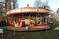 Carousel at the National Trust Christmas fair, at Petworth House - geograph.org.uk - 92665.jpg
