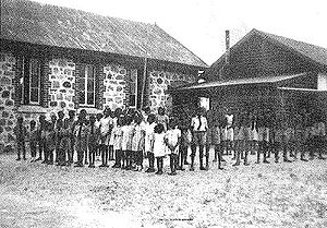 Noongar - Carrolup River Native Settlement, c. 1951, near Katanning