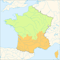 Carte du pays de droit coutumier et du pays de droit écrit (no text).png