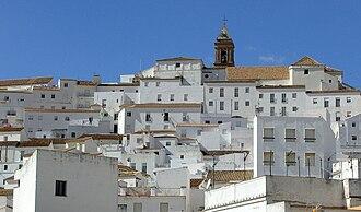 Alcalá de los Gazules - Image: Casa blancas en Alcalá de los Gazules
