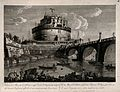 Castel Sant' Angelo (Mausoleum of Hadrian), Rome; as seen fr Wellcome V0014423.jpg
