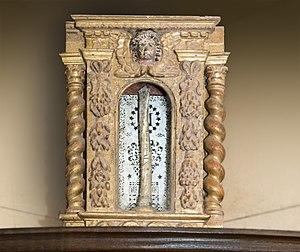 Deodatus of Nevers - Image: Castelnau d'Estrétefonds Eglise Reliquaire de saint Déodat IM31000102