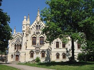 Iași County - Sturdza Palace in Miclăușeni