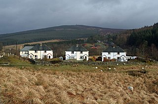 Kielder village in the United Kingdom