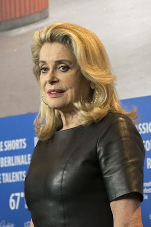 Catherine Deneuve - Image: Catherine Deneuve at Berlinale 2017