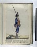 Cazadoros de Infanteria de Guardias Españolas, fueron creados Año, 1793, y en cada Batallon ay vna Compañia sobre el mismo pie gue el de las demas (1797) (NYPL b14896507-87752).tiff