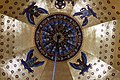 Center detail of the Dome's mosaic - Palatine Chapel - Aachen - Germany 2017.jpg