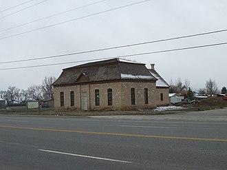 National Register of Historic Places listings in Sanpete County, Utah - Image: Centerfield Utah School