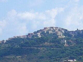 Centola Comune in Campania, Italy