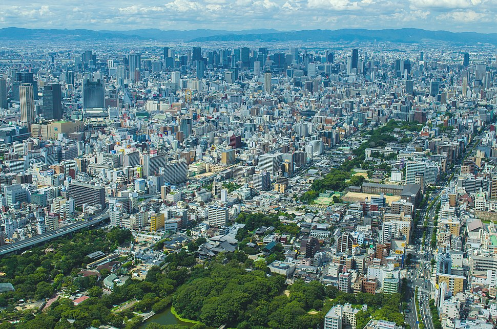 Central Osaka