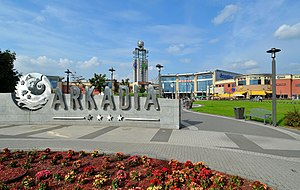Arkadia (shopping mall) - Arkadia shopping center