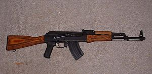 Century Arms WASR-10, shown with 10 round &quo...