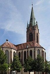 Église Saint-Étienne, Cernay