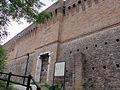 Cesena, rocca malatestiana, ingresso del torrione della lumaca.JPG