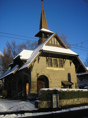 Lancy - Protestant Chapel in Lancy