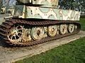 Char Tigre de Vimoutiers 2012-02 tank track 2.JPG