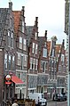 Characteristic old Dutch gables at the harbour Hoorn - panoramio.jpg
