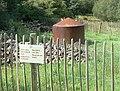 Charcoal kiln on the Aber Falls trail - geograph.org.uk - 1464495.jpg