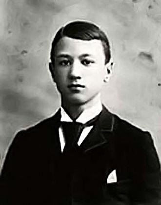 Charles Ives - Charles Ives, c. 1889