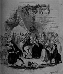 Charles Dickens - The Pickwick Papers, Christmas evening.jpg