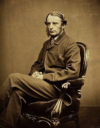 Charles Kingsley - Image: Charles Kingsley. Photograph by Charles Watkins. Wellcome V0026646