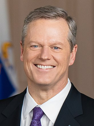 Governor of Massachusetts - Image: Charlie Baker official photo (cropped)