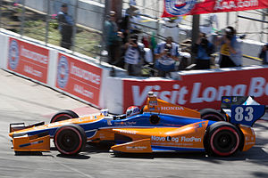 Chip Ganassi Racing - Charlie Kimball at the 2012 Toyota Grand Prix of Long Beach.