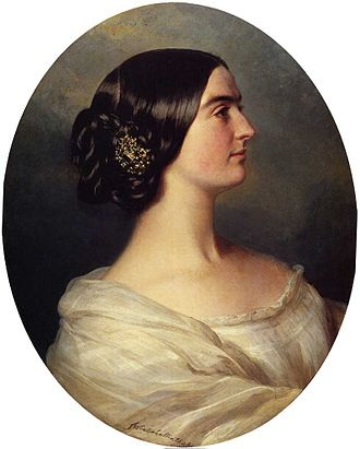 Charlotte Canning, Countess Canning - Lady Canning, by Franz Winterhalter (1849)