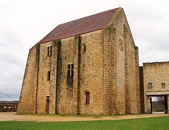 Château de la Madeleine - The keep