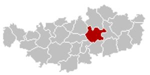 Chaumont-Gistoux - Image: Chaumont Gistoux Brabant Wallon Belgium Map